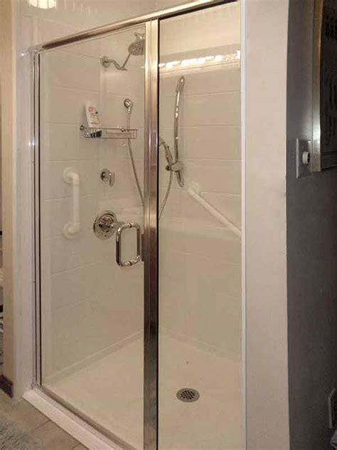 Frameless Shower Screen Hardware by Glass Shower Gallery Precision Glass Shower
