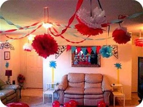 baby birthday decoration at home awesome home decor for cat in the hat birthday theme dr