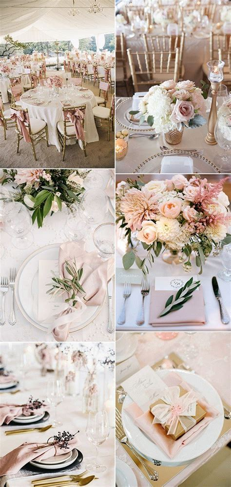 Top 15 So Elegant Wedding Table Setting Ideas for 2018