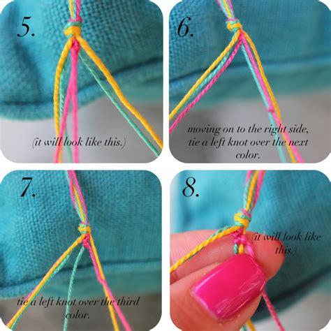 how to make bracelets with diy friendship bracelets the stripe