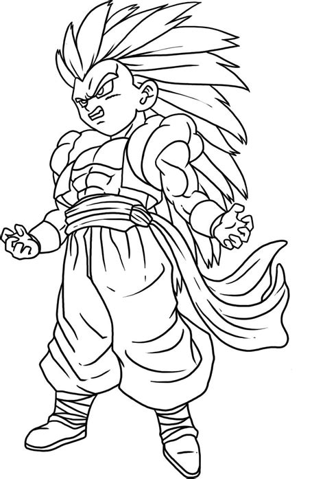 Free Printable Dragon Ball Z Coloring Pages For Kids Free Printable Z Coloring Pages
