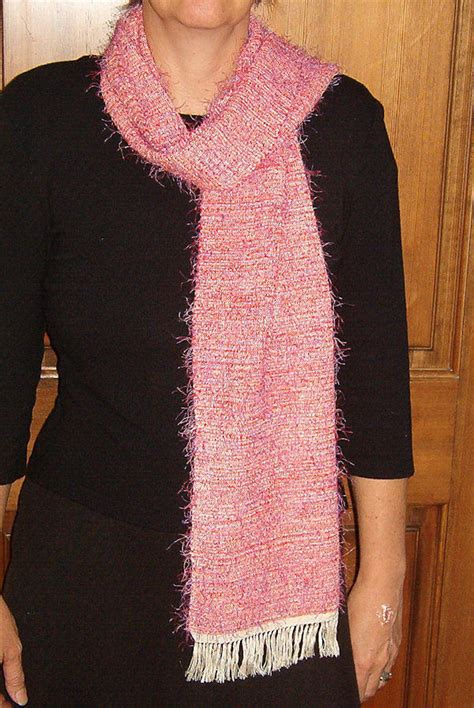 knitting pattern for eyelash scarf handwovens