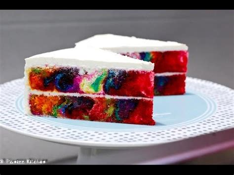 multi colored cake multi colored marble cake recipe