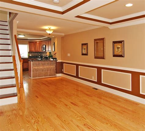 images of homes with light wood floors and trim and