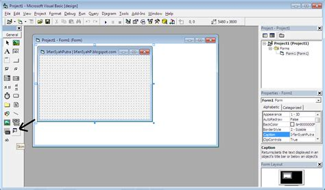 tutorial visual basic indonesia tutorial menggunakan skin di microsoft visual basic 6 vb