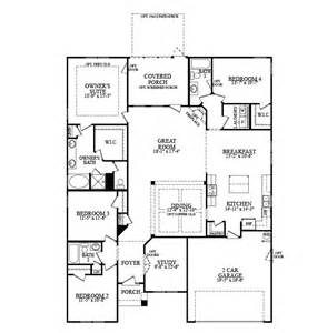 dr horton single story floor plans seabrook cottages at neely simpsonville south