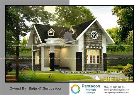 1220 square feet contemporary low budget home design 672 square feet single floor low budget modern home design