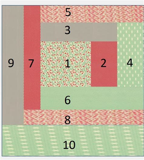 quilt as you go log cabin tutorial quilting in the