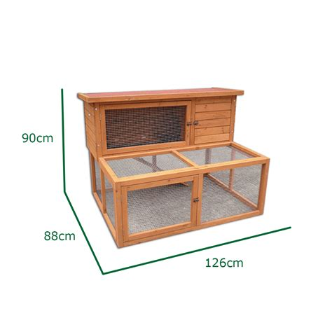 House Floor Plans With Dimensions 4ft large rabbit hutch with run and cover guinea pig