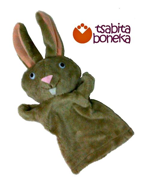 Boneka Rabbit Kelinci cheer up your let s make a bunny puppet