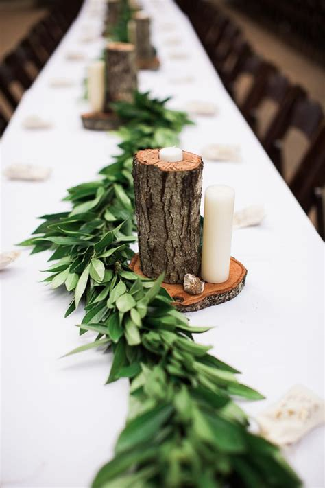 Backyard Wedding Decorations 33 Cute And Simple Rustic Wedding Centerpieces Weddingomania