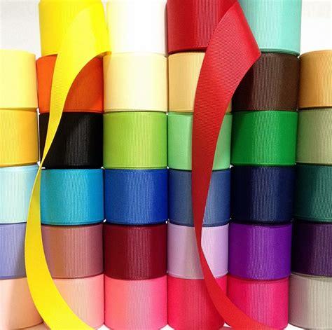 grosgrain ribbon grosgrain ribbon 1 5 quot wholesale 34 yards lot b solid 1
