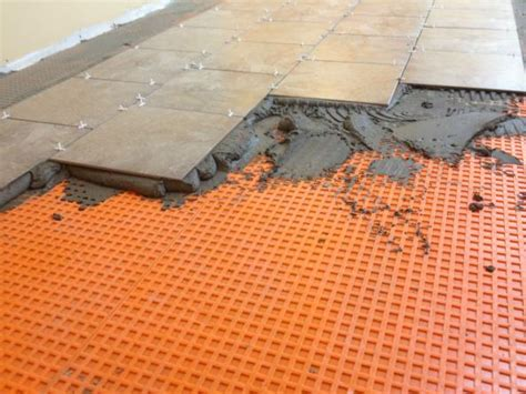 ceramic tile on very unlevel floor doityourself com community forums