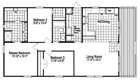 rockwell floor plan the rockwell ii 28523r manufactured home floor plan or