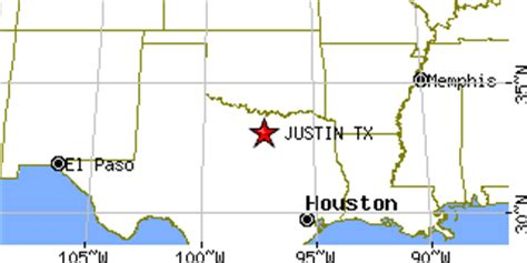 justin texas map justin texas tx population data races housing economy