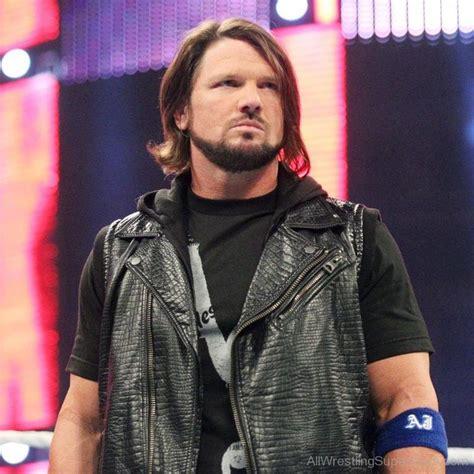 wwe hairstyles wwe wrestler aj styles