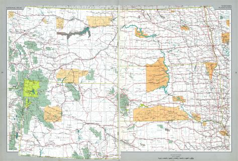 northern united states map northern plains states map united states size