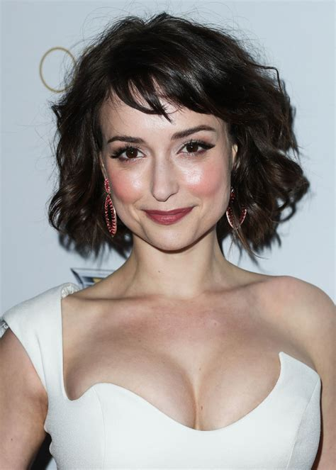 milana vayntrub milana vayntrub at cadillac s 89th annual academy awards