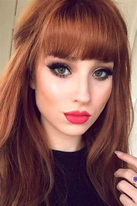 hair style for hair with bangs 17 best images about hair styles and hair fashion on