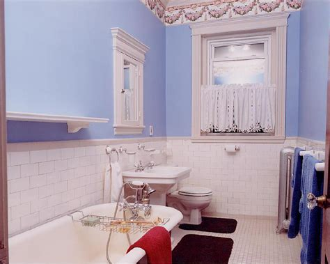 bathroom wallpaper border