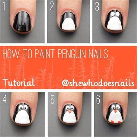 nail art winter tutorial easy winter nail art tutorials 2013 2014 for beginners