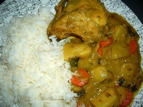 cuisine antillaise colombo de poulet colombo de poulet antillais une plume dans la cuisine