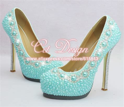 High Heels Dhl New Hitam free shipping by dhl custom make rhinestone and light blue