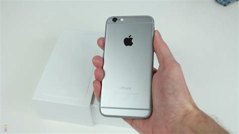 apple iphone 6 space grey 64gb unboxing