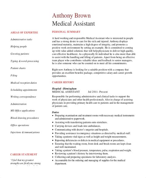 Resume For Administrative Assistant Pdf senior administrative assistant resume 10 free word