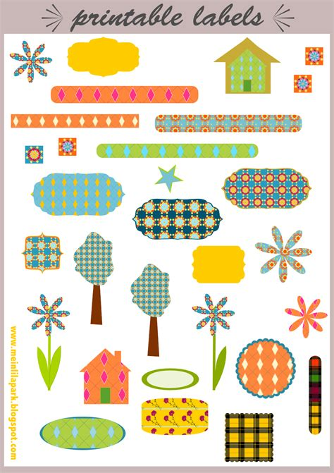 printable stickers 9 best images of free printable for scrapbooking stickers
