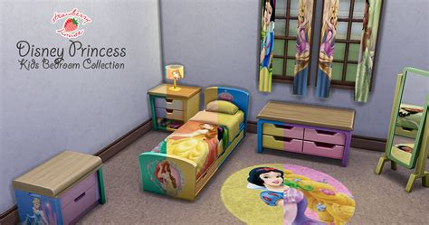 my sims 4 blog toy story bedroom set by miguel my sims 4 blog disney princess kids bedroom collection by