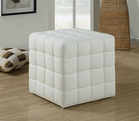 soft ottoman cube 25 white leather ottomans square rectangle