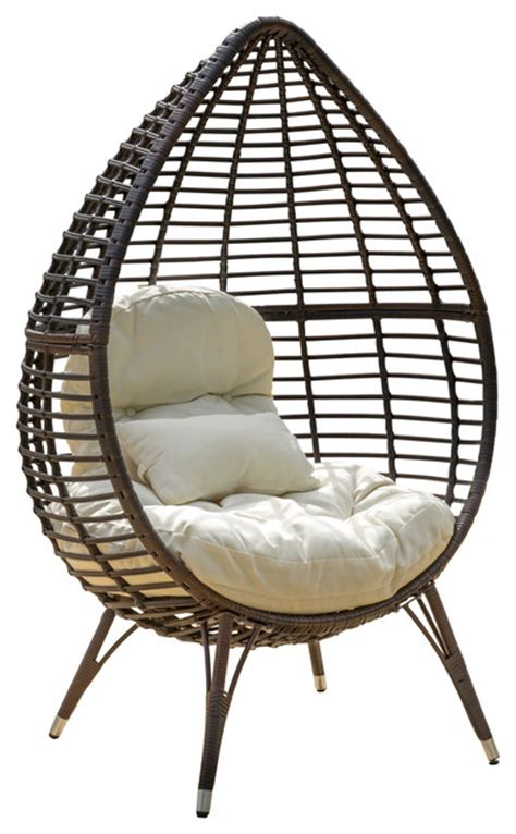 teardrop swing chair teardrop rattan hanging chair a charming house with