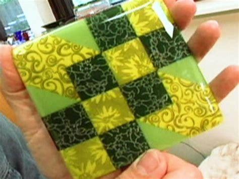 How To Make Handmade Tiles - how to make a glass tile coaster hgtv