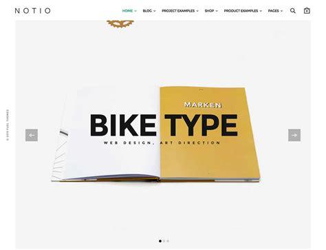 theme wordpress notio 25 best creative agency wordpress themes 2018 athemes