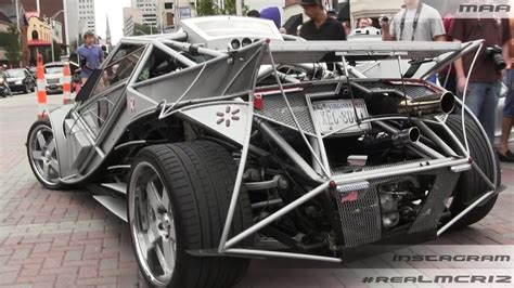 Handmade Cars - custom built car brutus ious v8 turbo w porsche