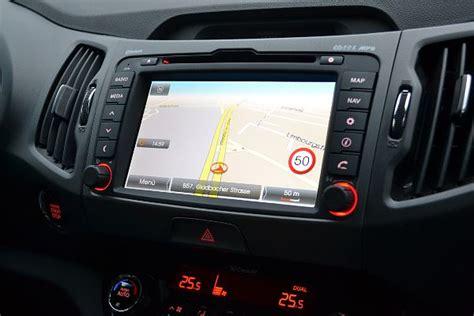 Kia Navigation Fahrbericht Zum Kia Sportage Spirit 2 0 Crdi 4wd Holozaen De