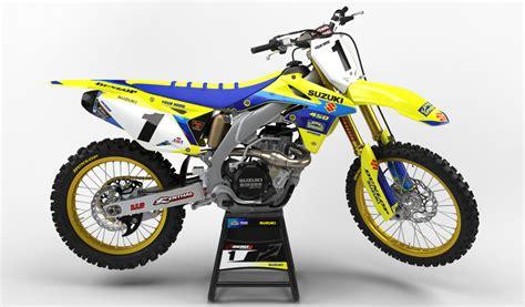 suzuki motocross bike suzuki rm mx graphics motocross graphics rm 125 03 08