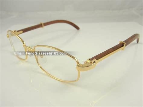 horn cartier eyeglasses cartier 2902518 wood