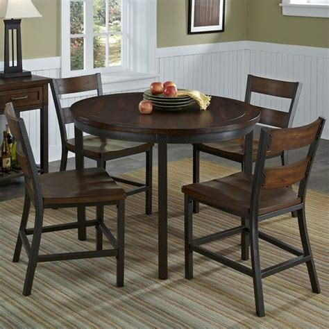 5 Kitchen Table Set by 5 Dining Table Chairs Furniture Set Wood Breakfast