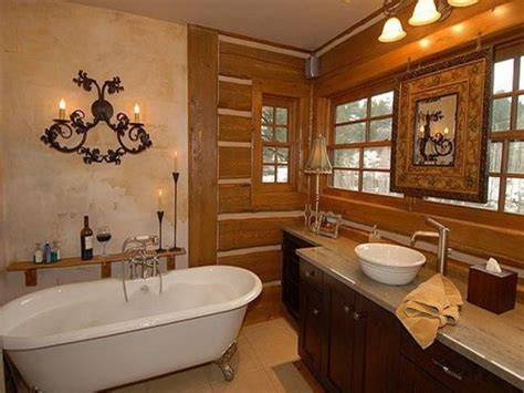 rustic bathroom decorating ideas 16 extraordinary rustic bathroom design ideas