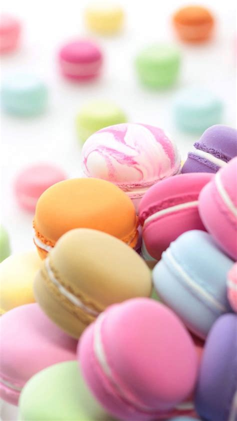 Cute Wallpapers And Girly On Pinterest Macaroon Iphone6s