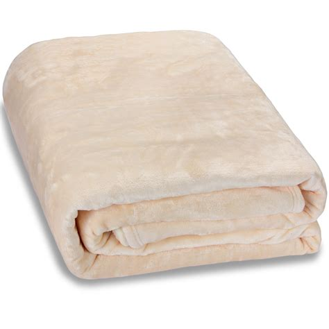 decke beige kuscheldecke 200x150 cm tagesdecke bett 252 berwurf sofadecke