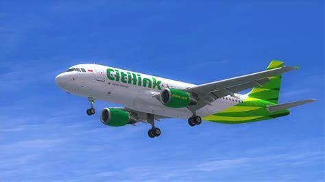 citilink flight project airbus a320 citilink garuda indonesia