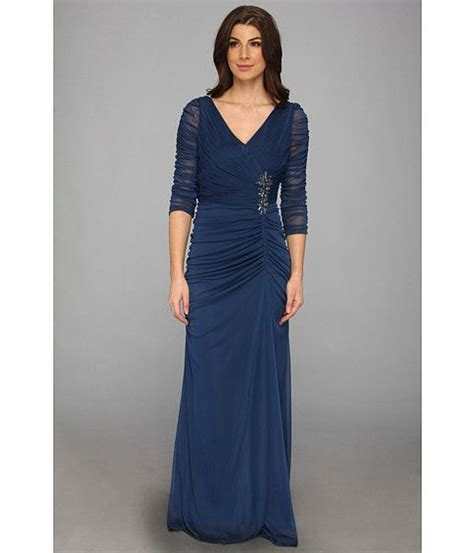 adrianna papell drape covered gown pinterest discover and save creative ideas