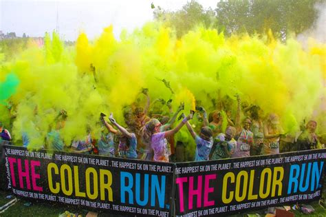 color 5k the color run ventura my is a journey not a