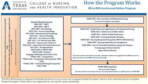 Rn Classes - rn to bsn program structure college of nursing and