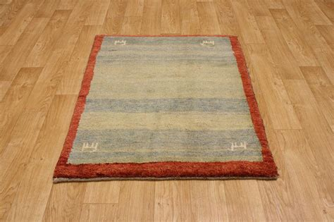 thick pile area rugs thick pile 4x5 gabbeh area rug carpet wool ebay