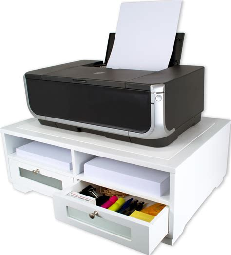 printer stand ideas victor w1130 pure white printer stand victor technology llc