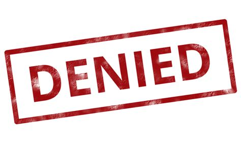 Us Visa Denied Criminal Record Credit Card Denied Try This Club Thrifty